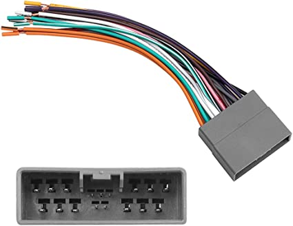 amazon.com: car stereo radio wiring harness for 2006-2013 some honda civic  fit crv odyssey and acura rdx car speaker wire harness connector kit: car  electronics  amazon.com