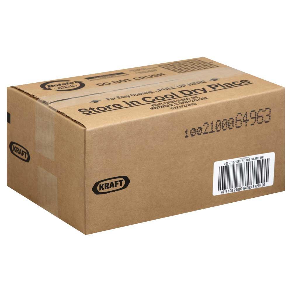 Dressing Kraft 1000 Island Fat Free, 0.438 Ounce Each 200 per Case
