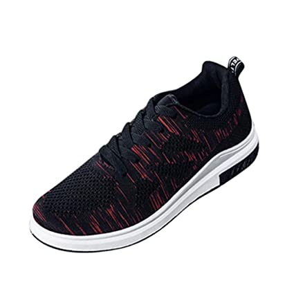 8672be5f4b91b1 Mens Casual Breathable Walking Sneaker Slip On Outdoor Sport Mesh Shoes  Running Shoes (Black