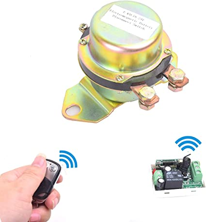 12V Car Remote Control Battery Switch Wireless Disconnect Power Master Kill USA