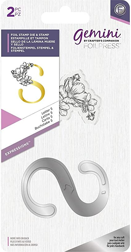 Crafter/'s Companion Gemini Hot Foil Stamp Die Expressions Letter Y