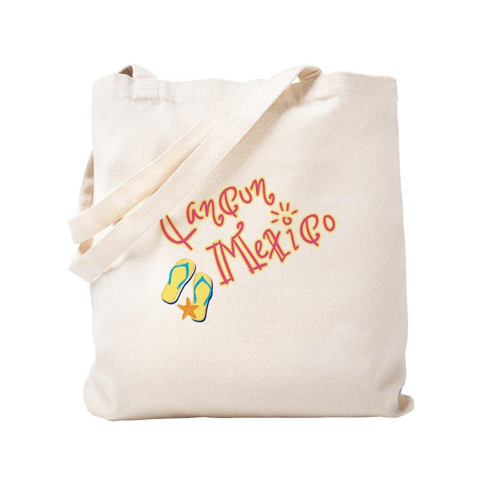 CafePress – Cancun Mexico – -ナチュラルキャンバストートバッグ、布ショッピングバッグ S ベージュ 1614013779DECC2 B0773TYY56 S