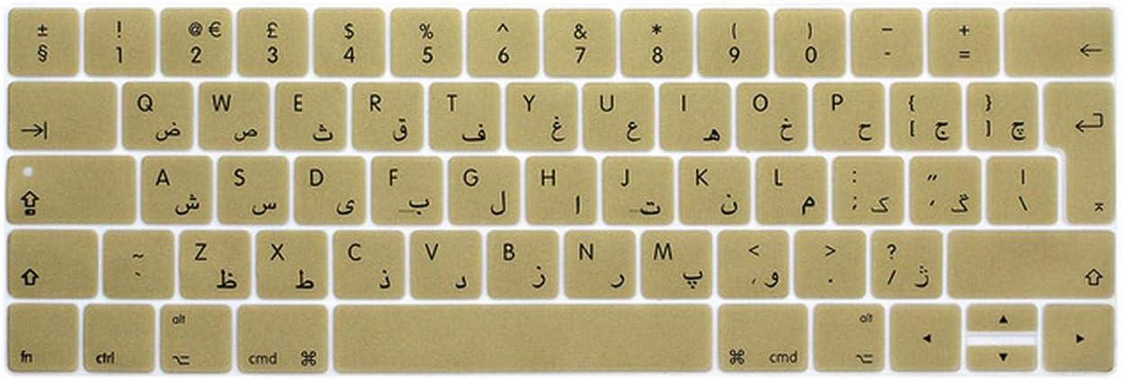 Protección teclado teclado para Mac Pro 13 A1706 15