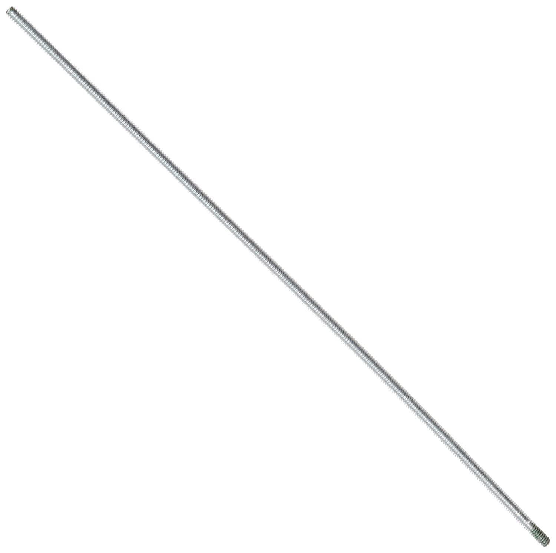 Steel Fully Threaded Rod Zinc Plated #10 24 Thread Size 12 Length Right Hand Threads