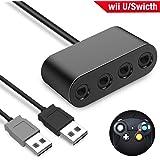 Nintendo Switch & WiiU用 ゲームキューブコントローラ接続タップ BEBONCOOL Switch 大乱闘スマッシュブラザーズ対応 GAMECUBE コントローラー用 転換 アダプター