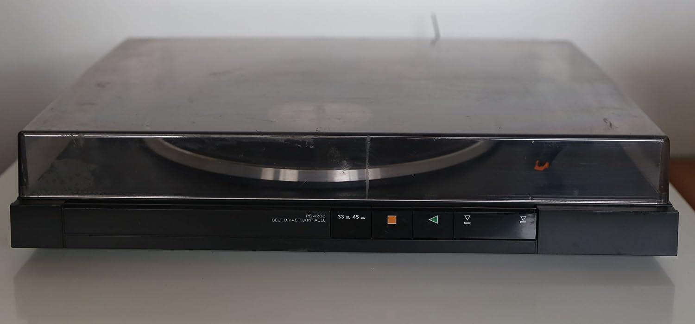 Grundig PS 4200 Tocadiscos en negro: Amazon.es: Electrónica