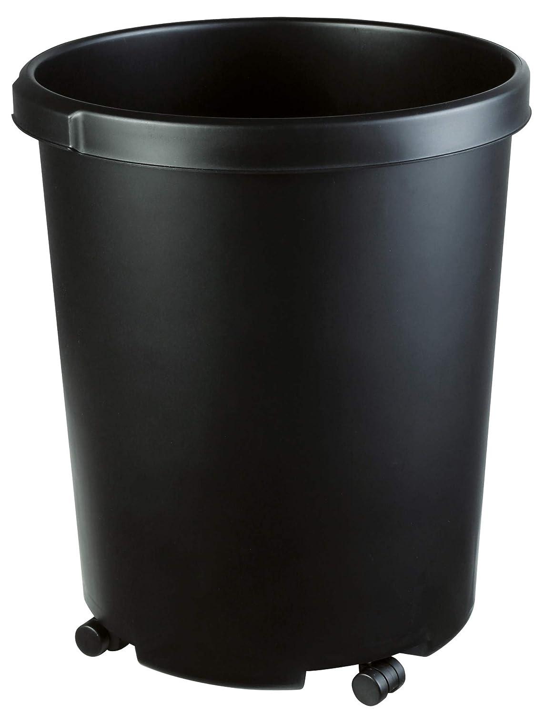 HAN 1855 color negro Ruedas de metal para papelera