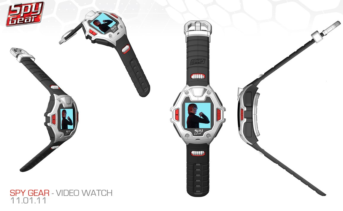 Spy Gear Video Watch