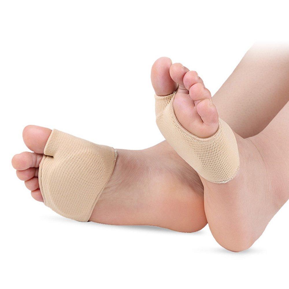 Gel silicone orteils séparateur Protections, 1paire de chaussures Pads Soulage les pieds soulager la douleur. Pour les femmes et les hommes (S) Kingnew