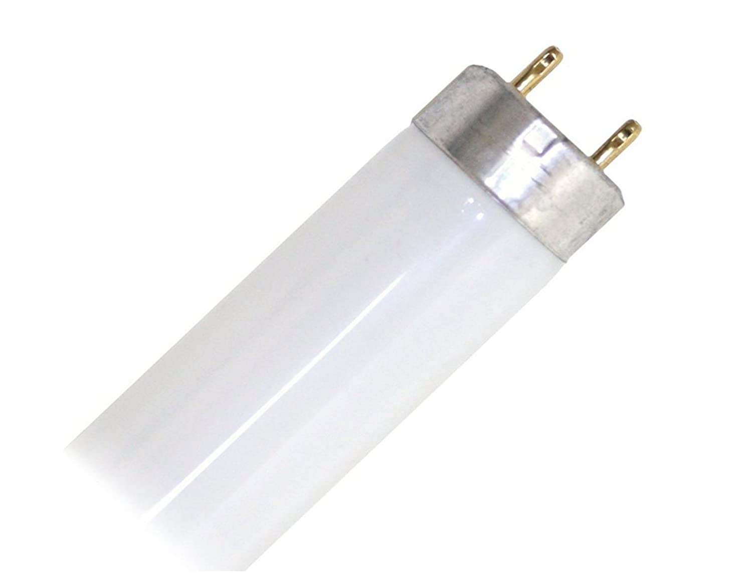 Sylvania 21600 F15T8 D Daylight 15 Watt T8 Fluorescent Tube Light Bulb 6500K Full Spectrum Preheat Lamp Replaces F15T8 F15T8 XL SPX65 F15T8 SPX65 F15T8 D TP F15T8 SUN F15T8 DL F15T8 Daylight