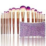 Best makeup brush set for beginner - Lean Makeup Brushes Set 17pc Kit High End Review