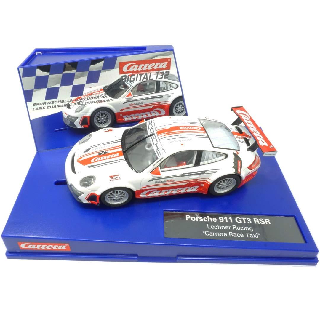 Amazon.com: Carrera Digital 132 20030828 Porsche 911 GT3 RSR Carrera Race Taxi: Toys & Games
