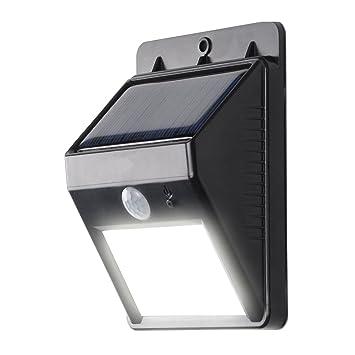 Kosee Faro Foco Solar Luz LED Inalámbrico con Sensor de Movimiento para Exteriores incluyendo Patio,