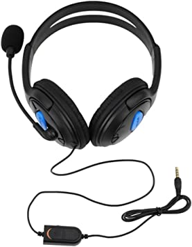 Wired Gaming Headset Auriculares con Micrófono Micrófono Stereo ...