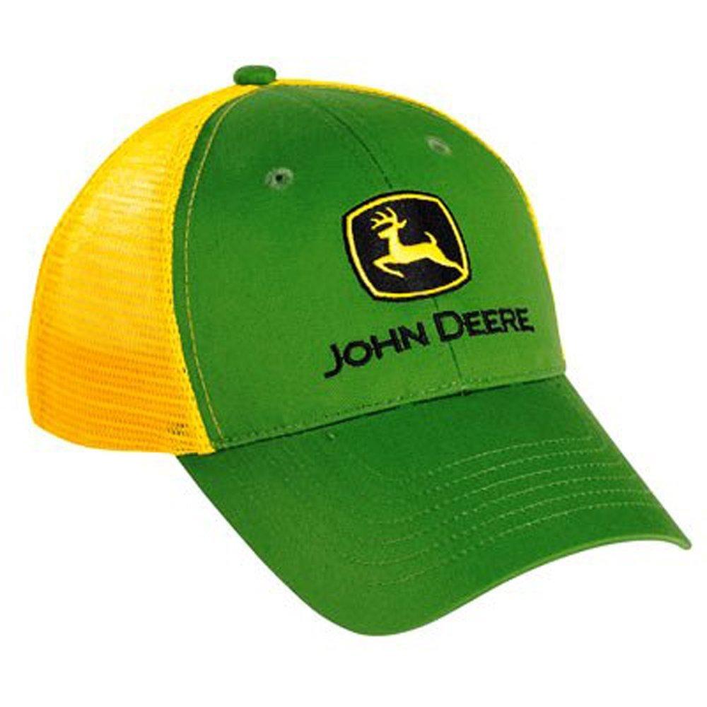John Deere Youth Green and Yellow Mesh Back Cap