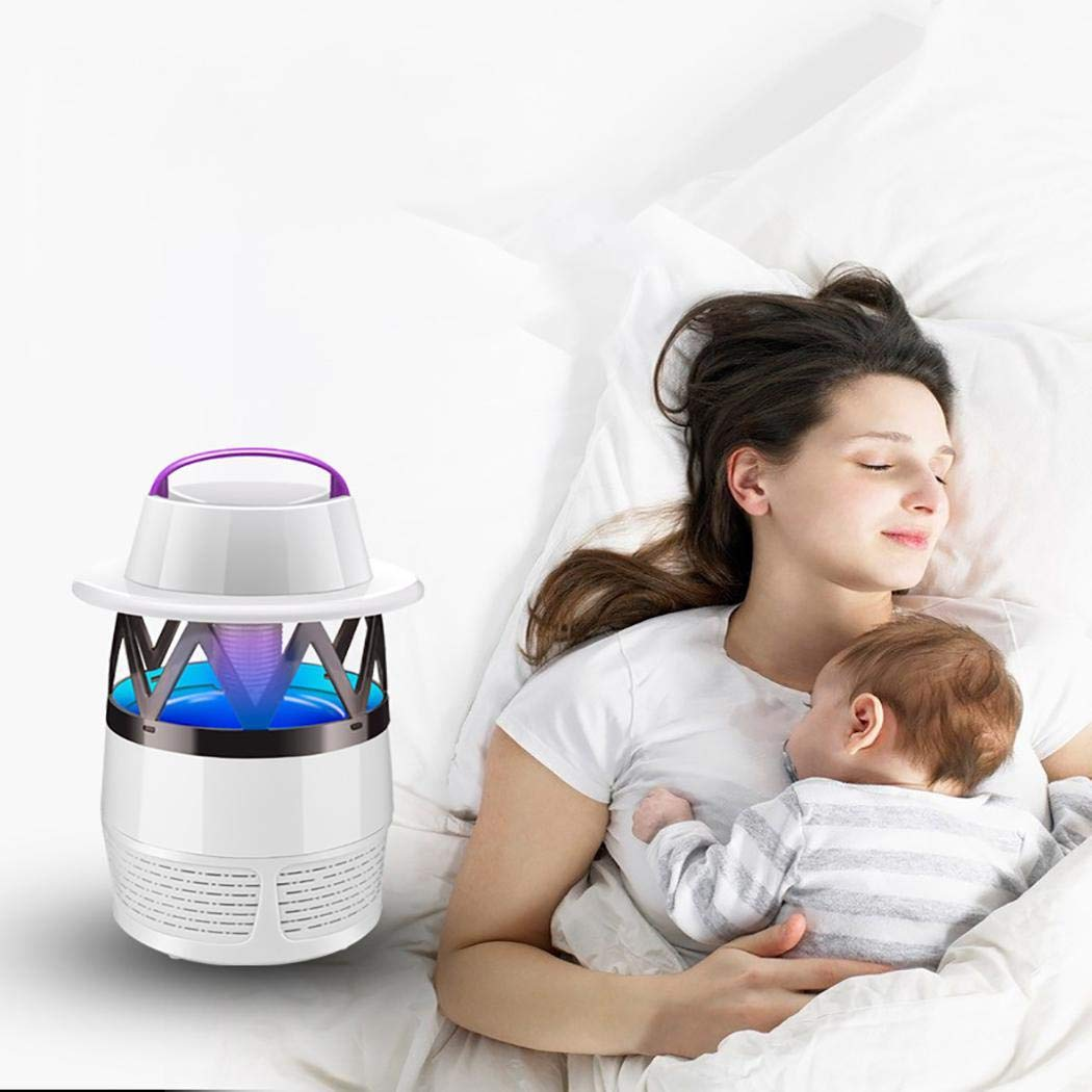 yagot Elektronische Mückenschutz Lampe Biomimetic Anti-Moskito LED Moskito-Mörder Lampe Home Universalschutz