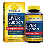 Renew Life – Liver Support Extra Care – Milk Thistle liver detox supplement – 90 vegetable capsules Review