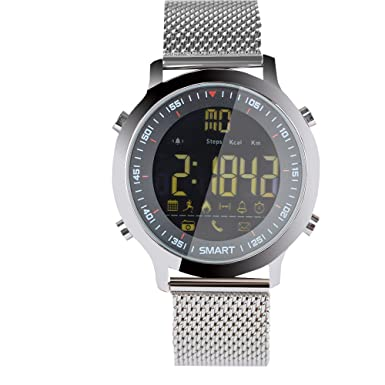 Sport Smart Watch Reloj Inteligente EX18 Reloj Deportivo 5 ATM Resistente al Agua podómetro Bluetooth 4.0