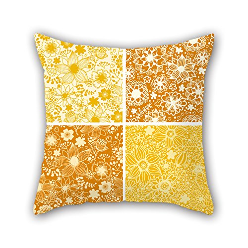NICEPLW Color Block Cushion Cases ,best For Living Room,bedding,office,seat,christmas,son 18 X 18 Inches / 45 By 45 Cm(two Sides)
