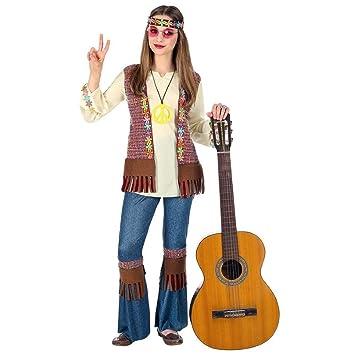 Widmann - Traje de niño hippie, tamaño 140 cm (8-10 años ...