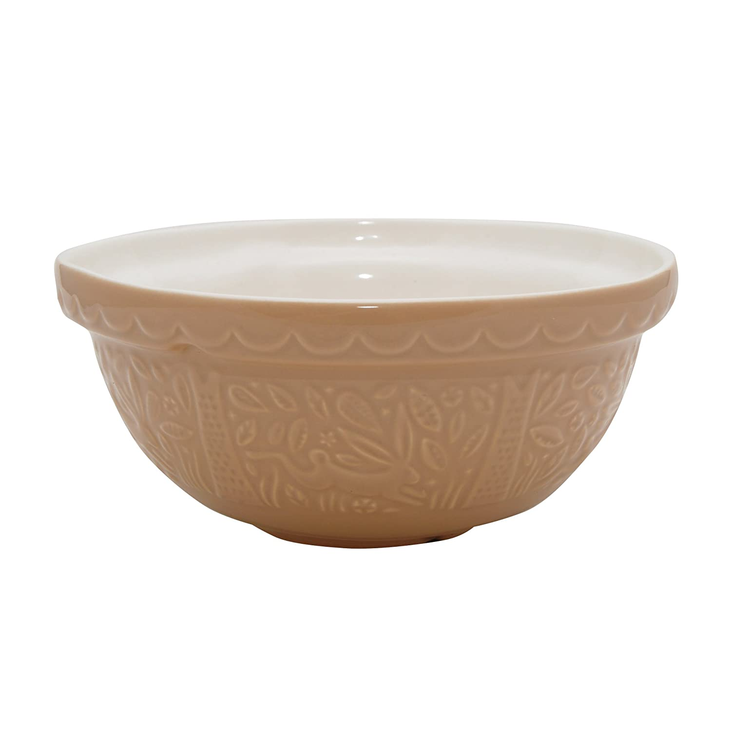 Mason Cash in The Forest Rabbit Embossed Mixing Bowl, Cane, 2.15 ...