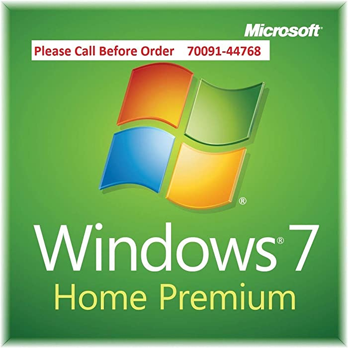 Top 10 Windows 7 Premium Home Edition On Disc