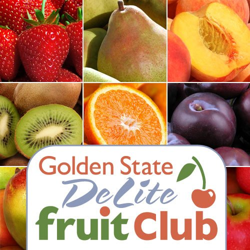 Golden State DeLite Monthly Fruit Club - 12 Month Club by Golden State Fruit