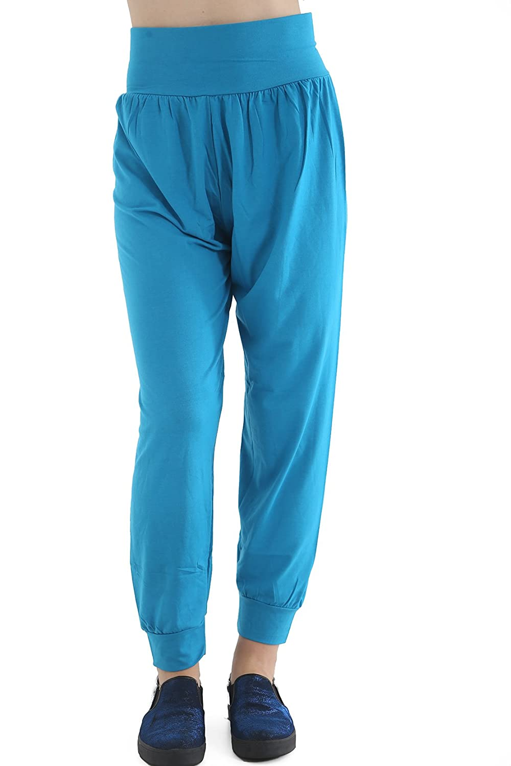 7-8, TURQUOISE GIRLS KIDS HAREM TROUSER ALI BABA HAREM LEGGINGS PANTS SIZE 4 TO 13 YEARS