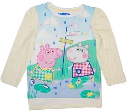 c43a44beb Peppa Pig Suzy 'Playing ON The Lake' Long Sleeve T Shirt/TOP 18-24 ...