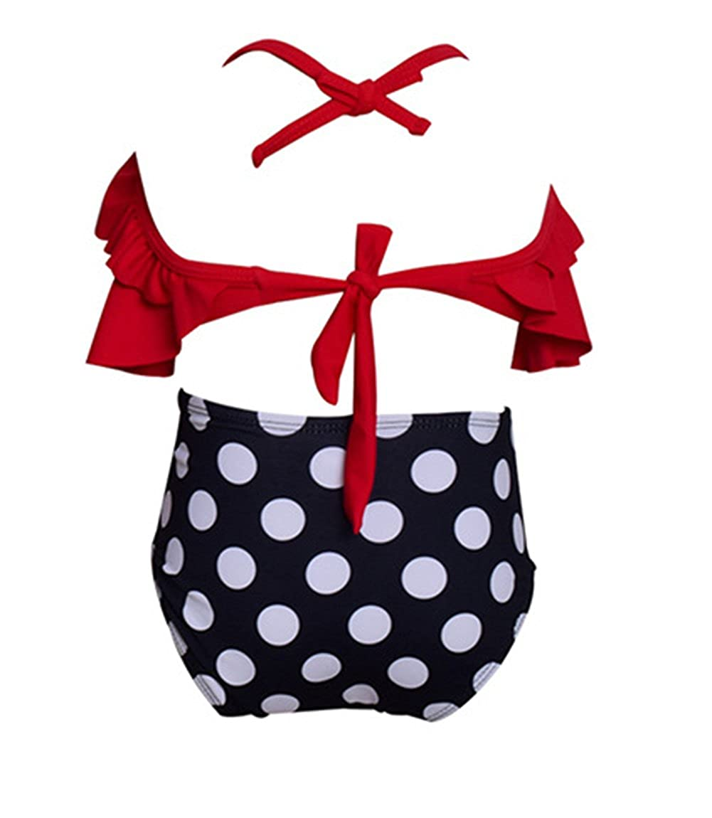 Harri Baby Girls Bikini Swimsuit Set Family Matching Mother Girl Swimwear Beachwear