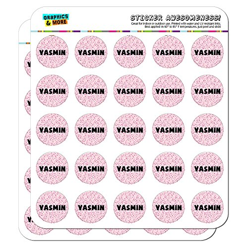 yasmin-name-planner-calendar-scrapbooking-crafting-stickers-pink-speckles-50-1-clear-stickers