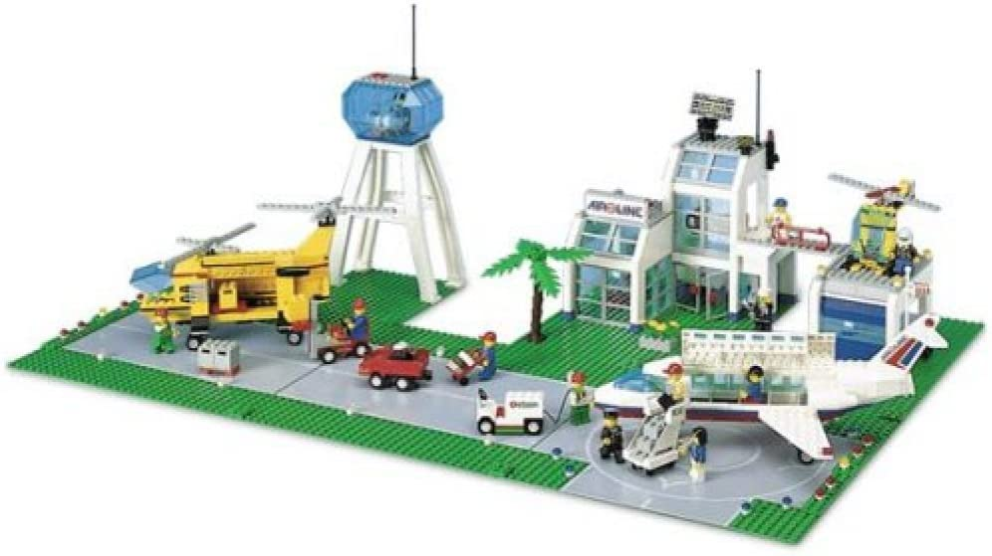 Lego City Set #10159 Airport