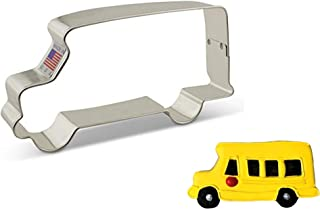 """product image for Ann Clark Cookie Cutters School Bus Cookie Cutter, 4.5"""""""