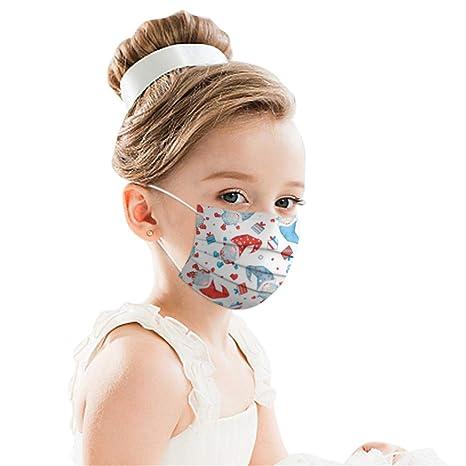 5 Piezas m/_ascarillas Negro Reutilizables antivaho Lavables Antipolvo Navidad Seda de Hielo Protecci/ón para Adultos