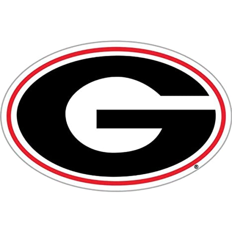 Amazoncom Ncaa Georgia Bulldogs G Logo 12 Inch Vinyl Magnet