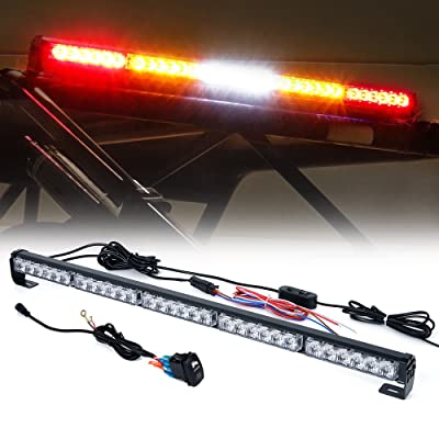 "Xprite 30"" Offroad LED Rear Chase Strobe Light bar w/Brake Reverse Turn Signal Light for Polaris RZR XP 1000 900, UTV, ATV, Side by Sides, 4x4, Trophy Truck - RZ Series RYWYR: Automotive"