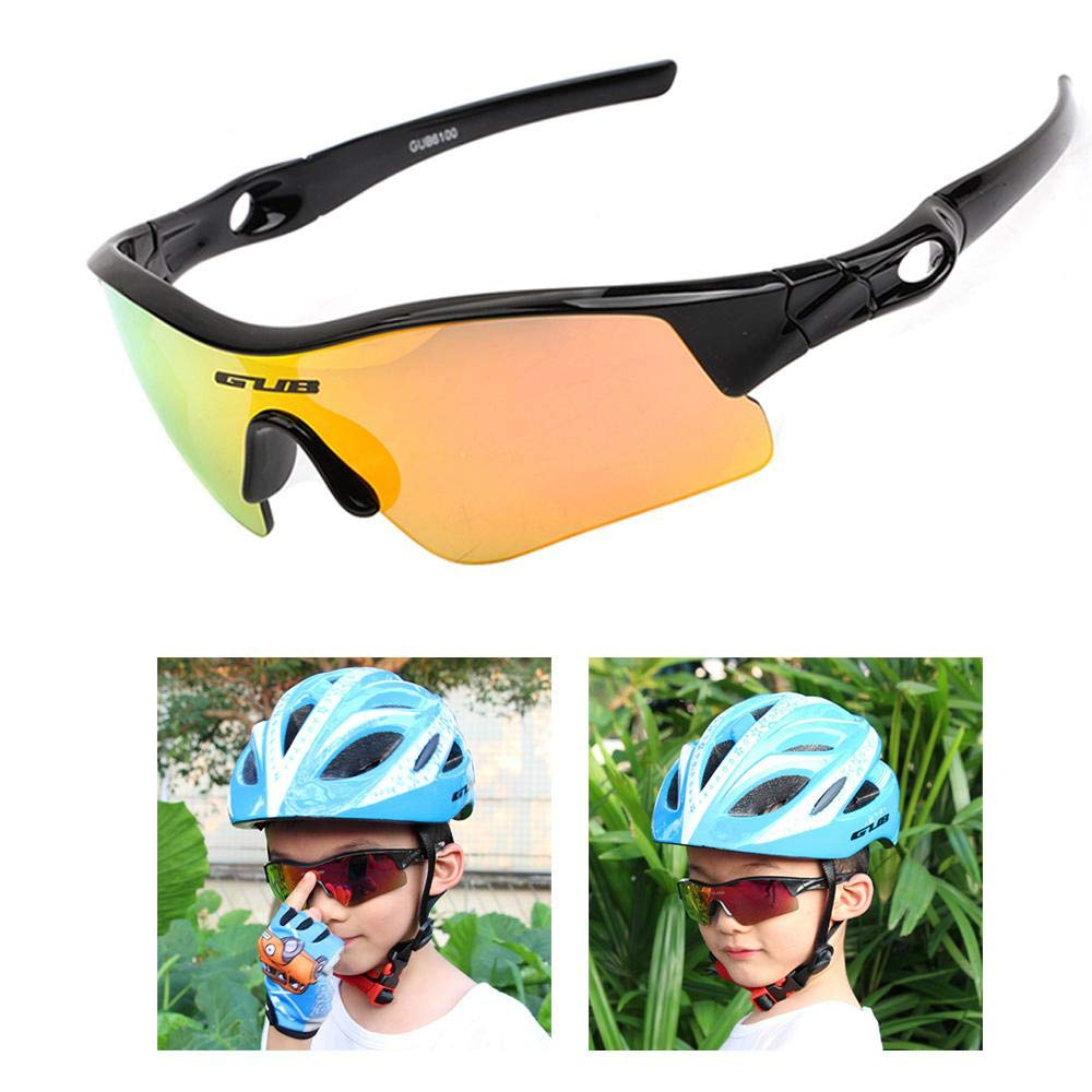 VeloChampion Kids Unisex summer boy girl Junior Sports WARP Sunglasses
