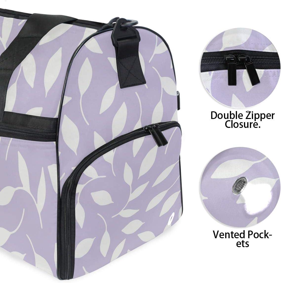 FAJRO Duffle Bag for Women Men Grass Travel Duffel Bag Large Size Water-proof Tear Resistant