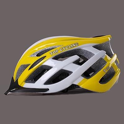 220g Ultra léger - Casque de vélo, Casque d'équitation de vélo Combinant la coquille extérieure de polycarbonate avec la mousse d'absorption d'impact avec 25 ventilations de refroidissement