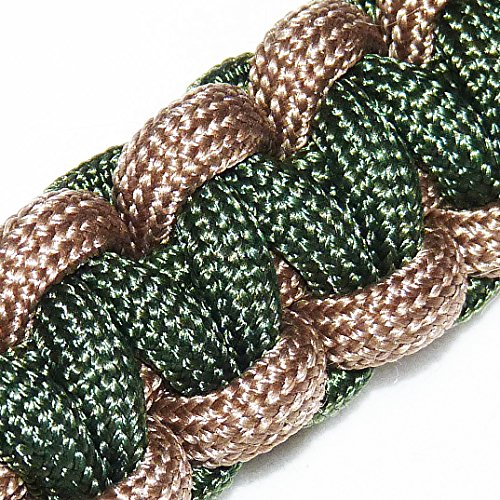 MilSpec Paracord Coyote Brown 498, 55 ft. Hank, Military Survival Braided Parachute 550 Cord. Use with Paracord Tools for Tent Camping, Hiking, Hunting Ropes, Bracelets & Projects. Plus 2 eBooks. by Paracord 550 Mil-Spec (TM) (Image #6)