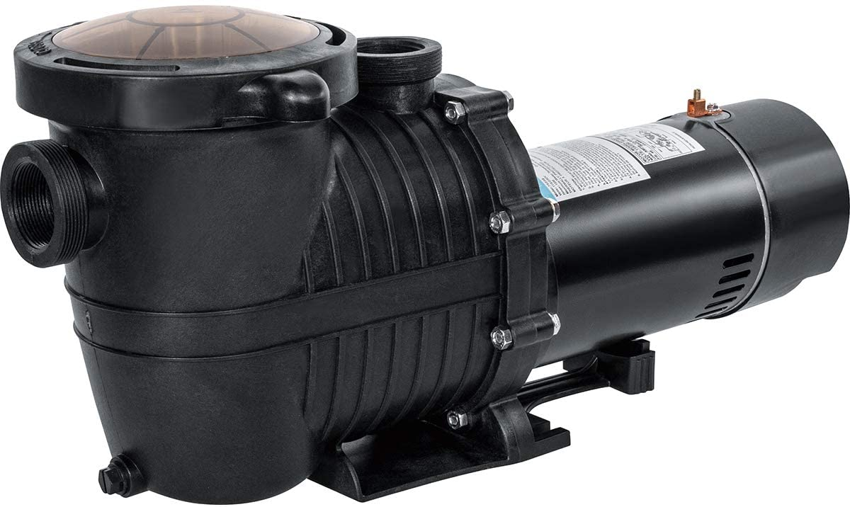 XtremepowerUS 1.5 HP Variable 2-Speed Swimming Pool Pump Above/In-ground Swimming Spa Pool Pump 230V ETL Motor Pump