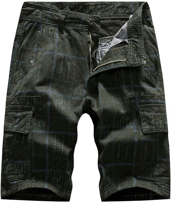Amazon.com: Yihaojia - Pantalones cortos para hombre ...