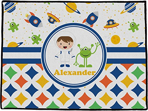 Mom Innovations Boy's Space & Geometric Print Personalize...