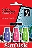 SanDisk Cruzer Blade 32GB USB 2.0, Black, SDCZ50C-032G-B46T