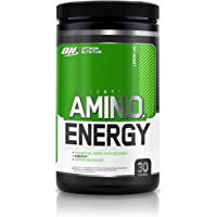 Optimum Nutrition Amino Energy Pre Workout Energy Performance Supplement with Beta Alanine, Caffeine, Amino Acids and Vitamin C. Performance Supplement  - Lemon Lime, 30 Servings, 270g