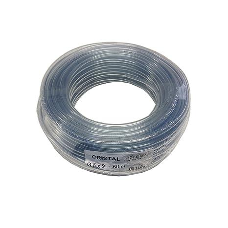 Turbo Tricoflex Wasserschlauch Cristal Weich PVC Schlauch, 6 mm innen XG21