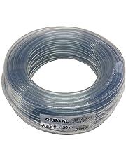 Tricoflex 00311132 - Tubo Flessibile in PVC, Diametro Interno 6 mm, Lunghezza 50 m, Arrotolato