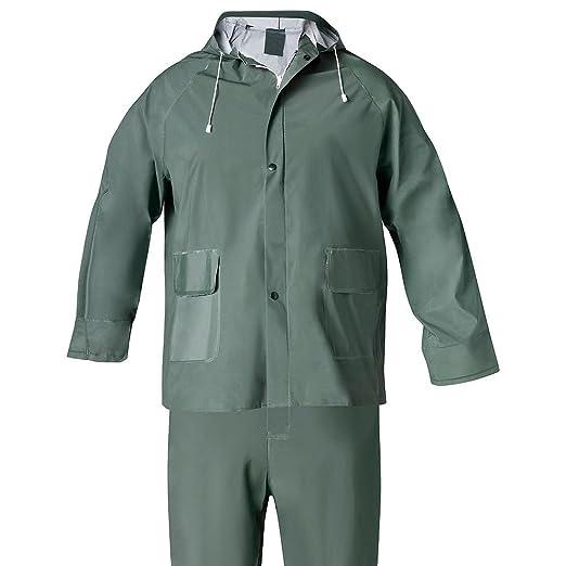 Wolfpack 15010007 Traje Agua Verde Pvc Talla 7-L