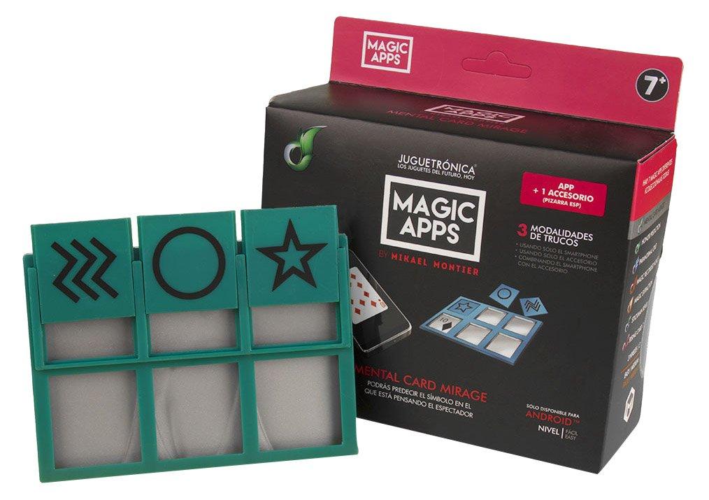 Juguetrónica Magic Apps Mental Card Mirage JUG0270: Amazon ...