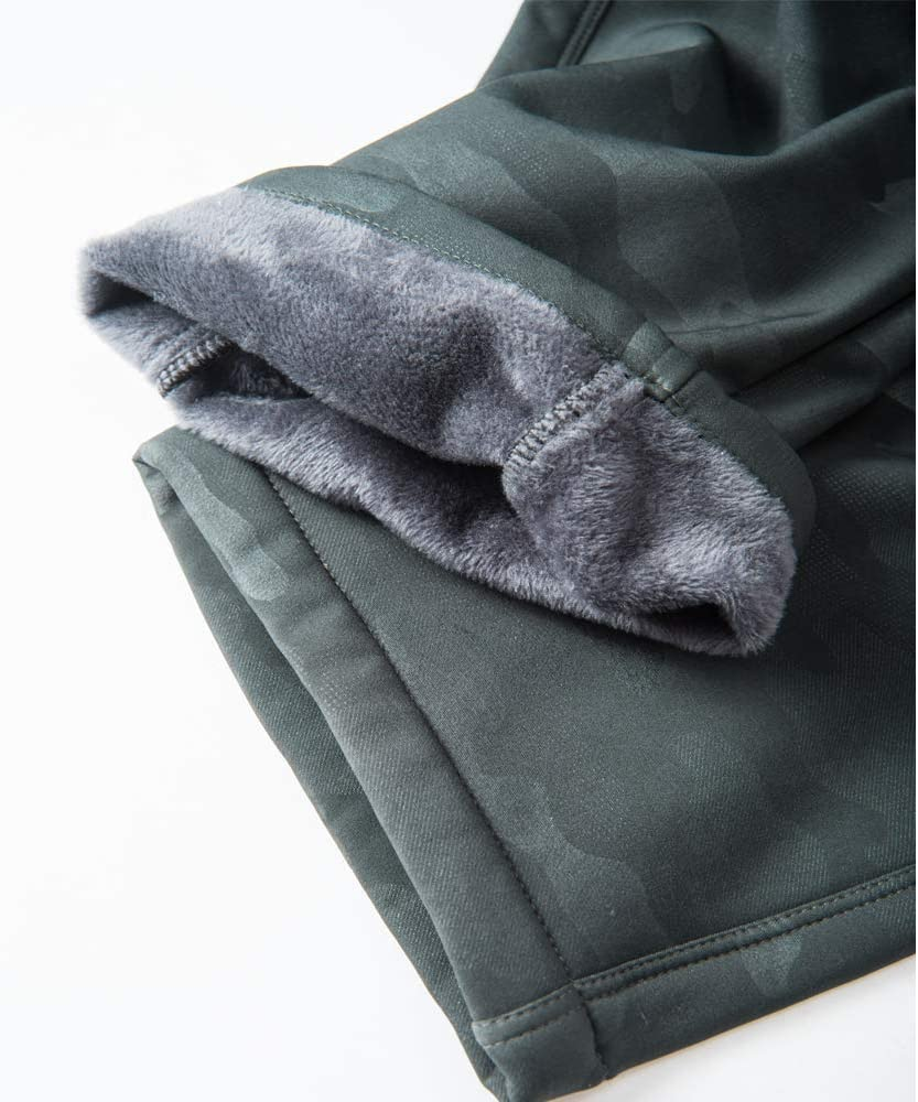 LY4U Hommes Pantalon /Étanche Pantalons Hydrofuge Coupe-Vent /à S/échage Rapide pour Camping et Randonn/ée P/êche Escalade en Plein Air /Épaississement de la Chaleur Camouflage Pantalon